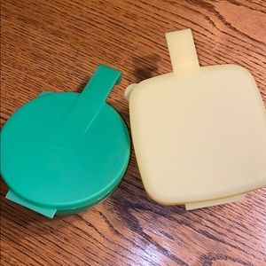 Tupperware Kitchen - Tupperware Cheese and Onion keepers